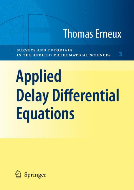 Cover of 'Applied Delay Differential Equations'