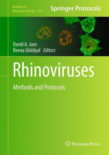 Cover of 'Rhinoviruses'