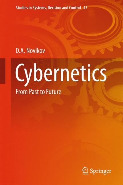 Cover of 'Cybernetics'