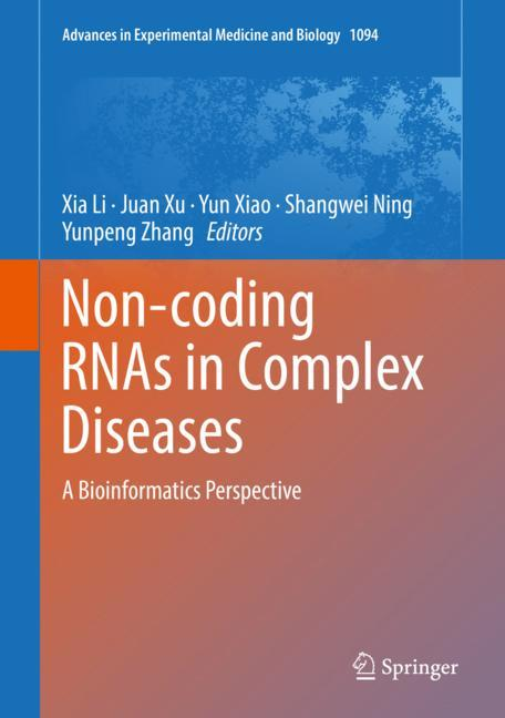 Cover of 'Non-coding RNAs in Complex Diseases'