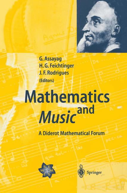 Cover of 'Mathematics and Music : A Diderot Mathematical Forum'