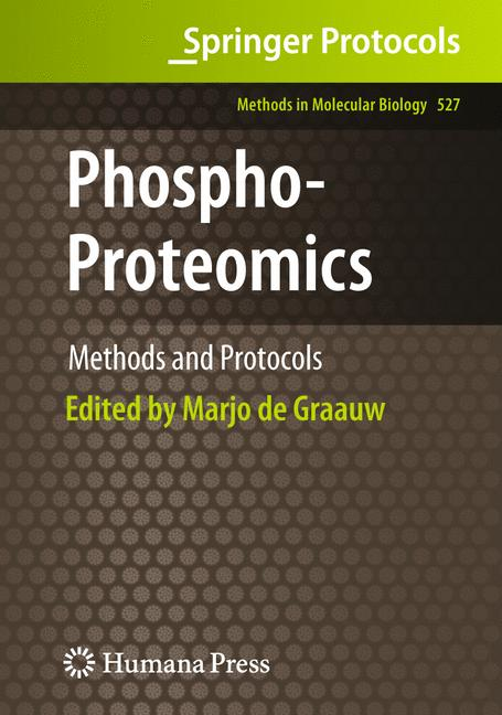 Cover of 'Phospho-Proteomics'