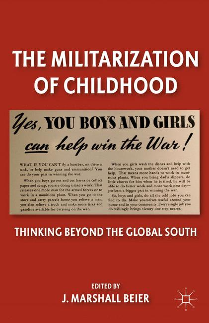 Cover of 'The Militarization of Childhood'