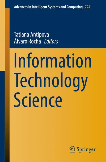 Cover of 'Information Technology Science'