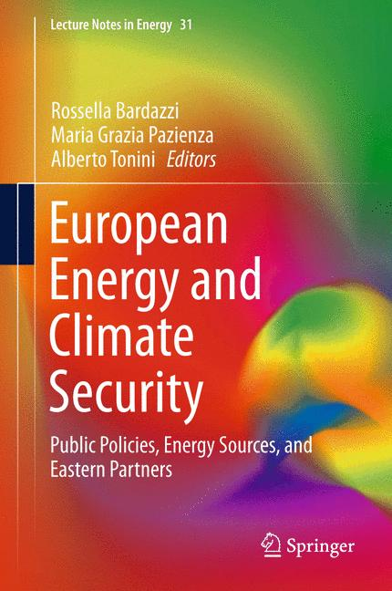 Cover of 'European Energy and Climate Security'