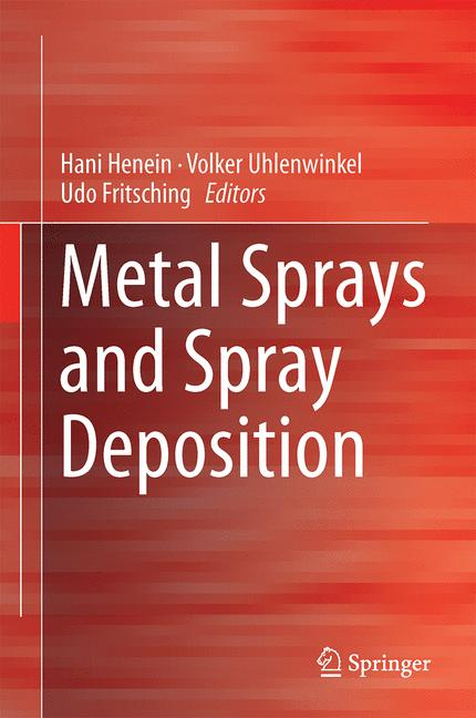 Cover of 'Metal Sprays and Spray Deposition'