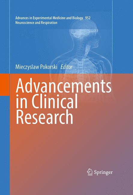Cover of 'Advancements in Clinical Research'