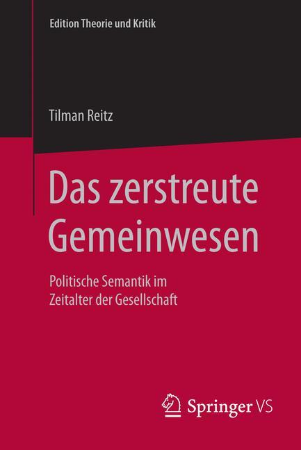 Cover of 'Das zerstreute Gemeinwesen'