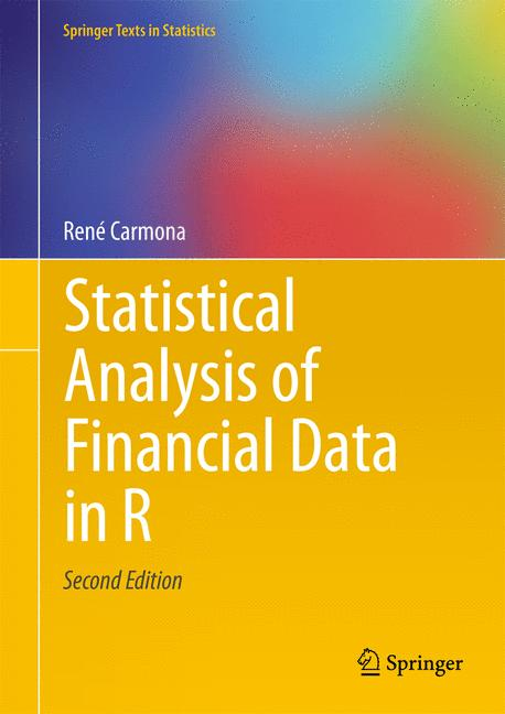 Cover of 'Statistical Analysis of Financial Data in R'