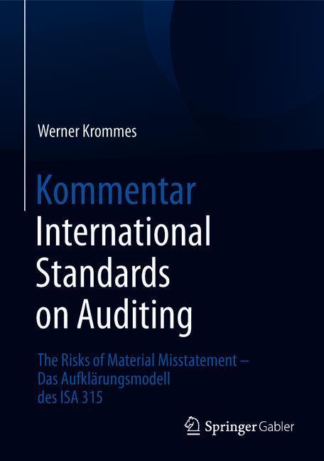 Cover of 'Kommentar International Standards on Auditing'