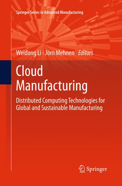Cover of 'Cloud Manufacturing'