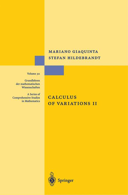 Cover of 'Calculus of Variations II'