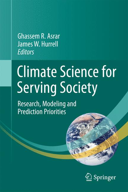 Cover of 'Climate Science for Serving Society'