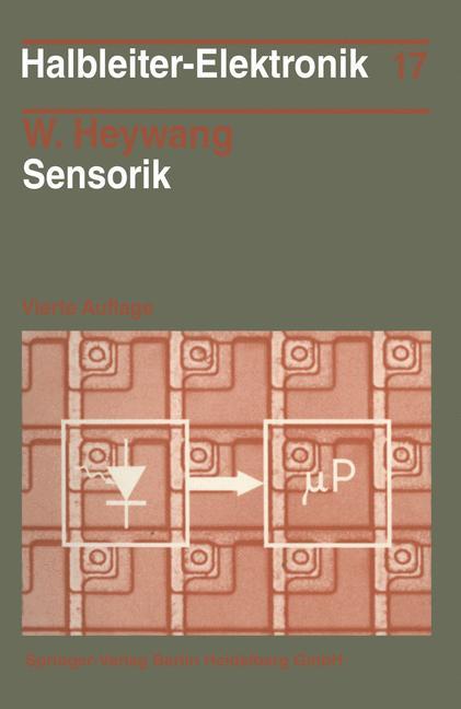 Cover of 'Sensorik'