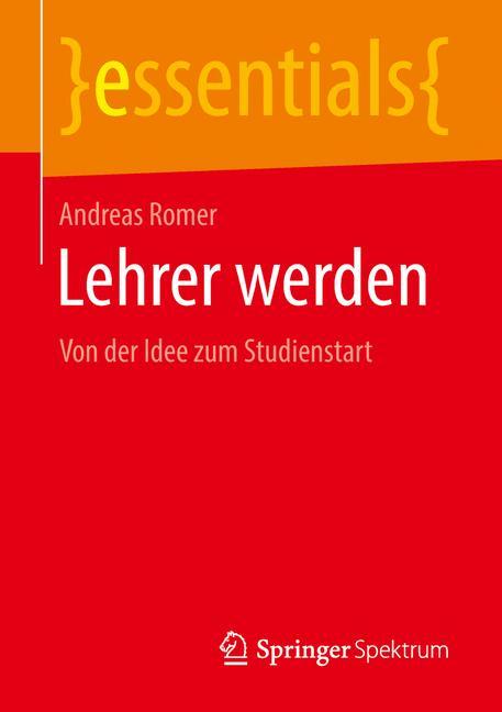 Cover of 'Lehrer werden'
