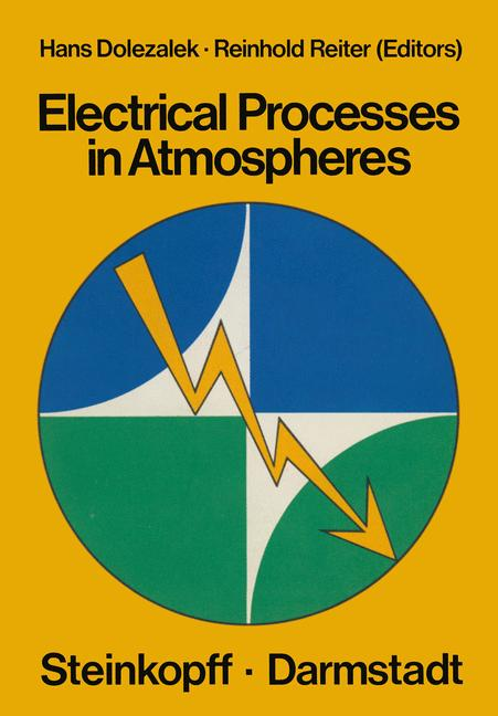 Cover of 'Electrical Processes in Atmospheres'