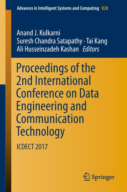 Cover of 'Proceedings of the 2nd International Conference on Data Engineering and Communication Technology'