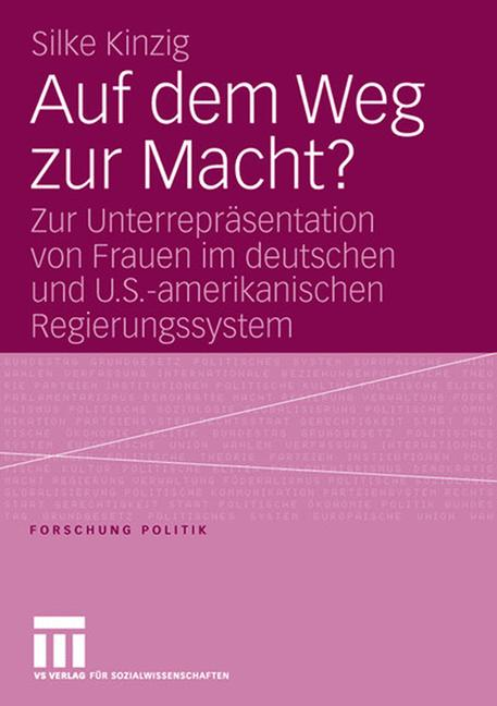 Cover of 'Auf dem Weg zur Macht?'