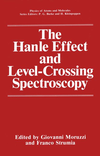Cover of 'The Hanle Effect and Level-Crossing Spectroscopy'
