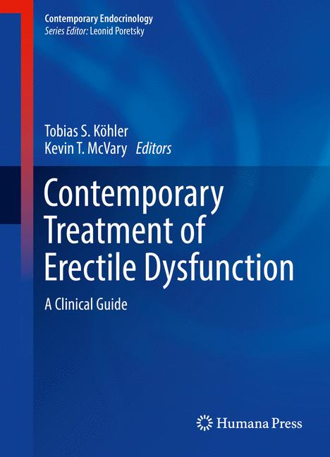 Cover of 'Contemporary Treatment of Erectile Dysfunction'