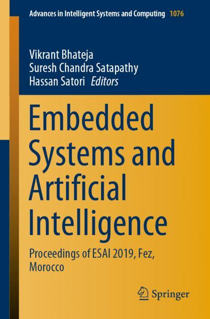 Cover of 'Embedded Systems and Artificial Intelligence'