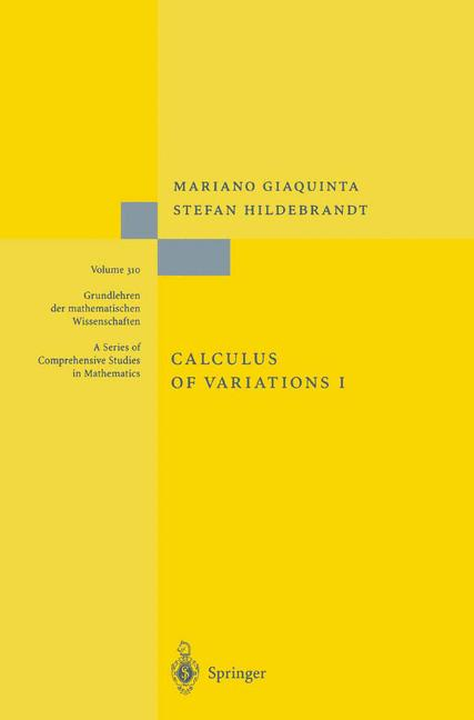 Cover of 'Calculus of Variations I'