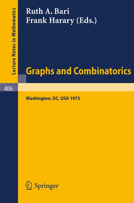 Cover of 'Graphs and Combinatorics'