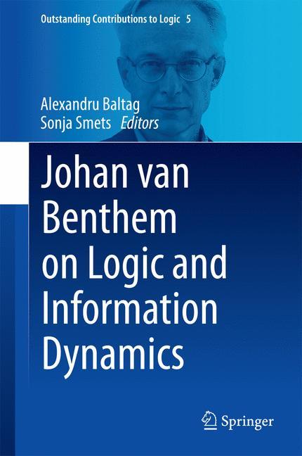 Cover of 'Johan van Benthem on Logic and Information Dynamics'