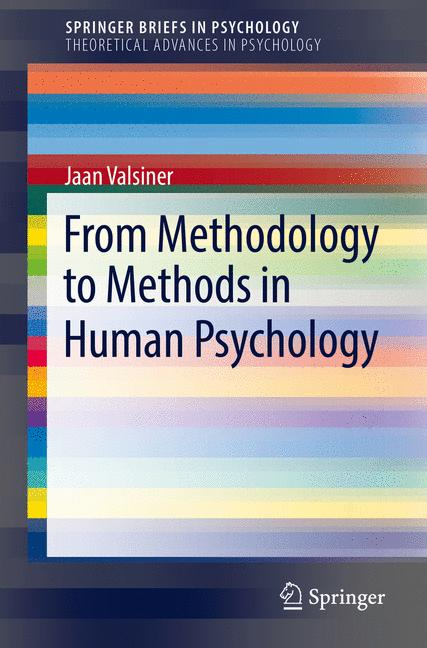 Cover of 'From Methodology to Methods in Human Psychology'
