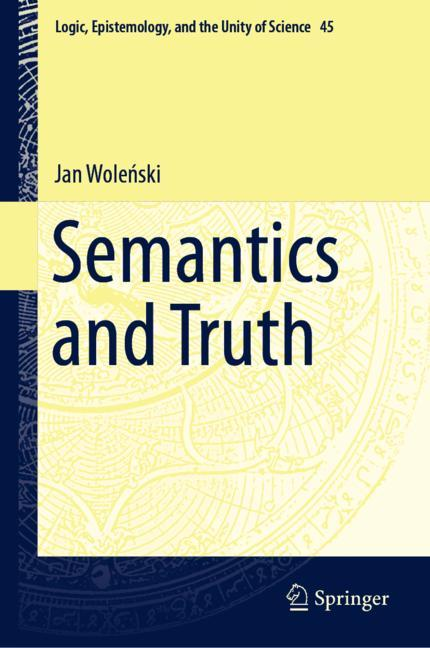 Cover of 'Semantics and Truth'