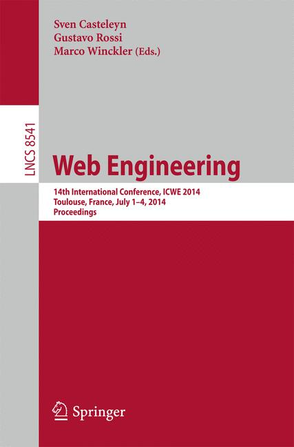 Cover of 'Web Engineering'