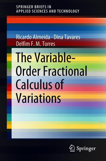 Cover of 'The Variable-Order Fractional Calculus of Variations'