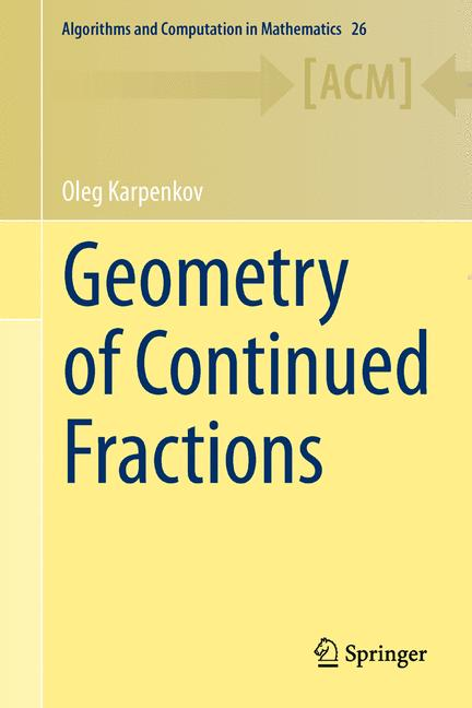 Cover of 'Geometry of Continued Fractions'