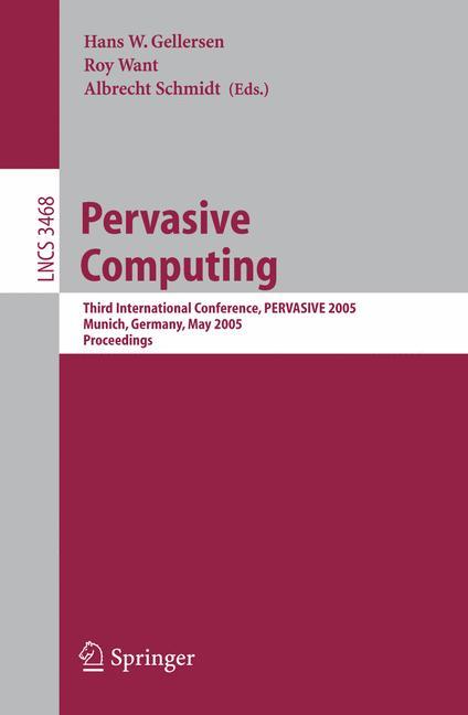Cover of 'Pervasive Computing'