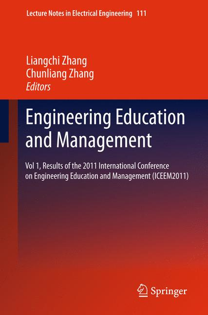 Cover of 'Engineering Education and Management'
