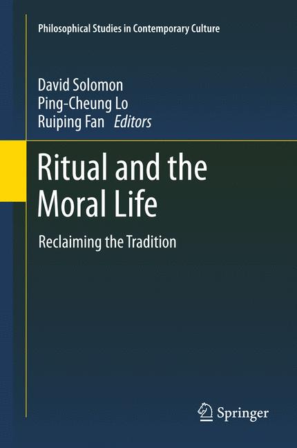 Cover of 'Ritual and the Moral Life'