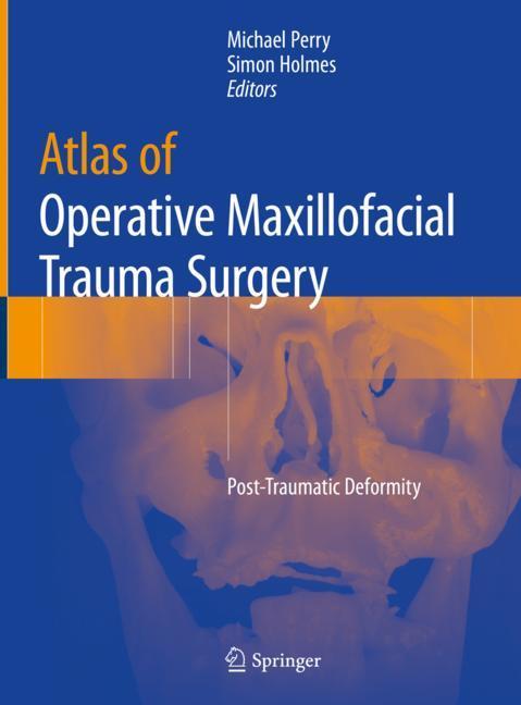 Cover of 'Atlas of Operative Maxillofacial Trauma Surgery'