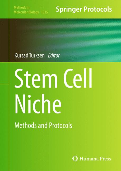 Cover of 'Stem Cell Niche'