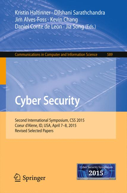 Cover of 'Cyber Security'