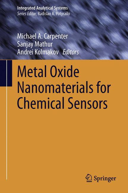 Cover of 'Metal Oxide Nanomaterials for Chemical Sensors'