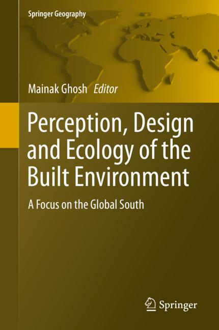 Cover of 'Perception, Design and Ecology of the Built Environment'