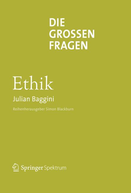 Cover of 'Die großen Fragen Ethik'