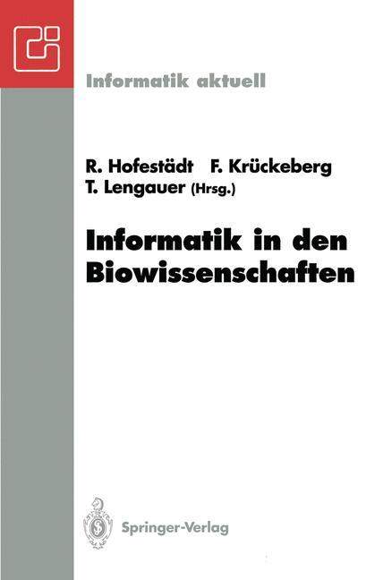 Cover of 'Informatik in den Biowissenschaften'