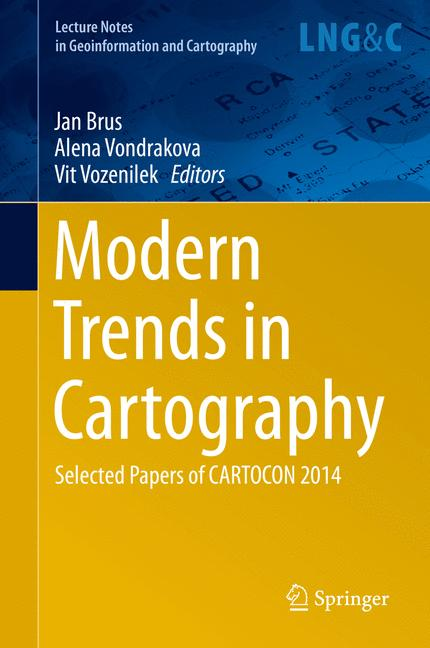 Cover of 'Modern Trends in Cartography'