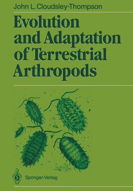 Cover of 'Evolution and Adaptation of Terrestrial Arthropods'