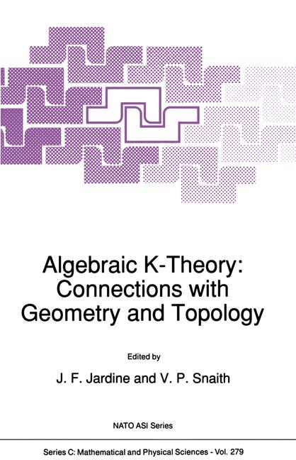 Cover of 'Algebraic K-Theory: Connections with Geometry and Topology'
