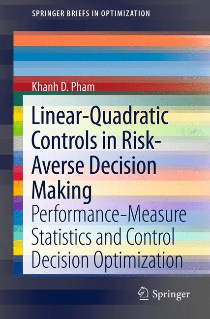 Cover of 'Linear-Quadratic Controls in Risk-Averse Decision Making'