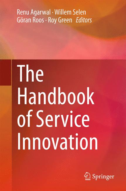 Cover of 'The Handbook of Service Innovation'
