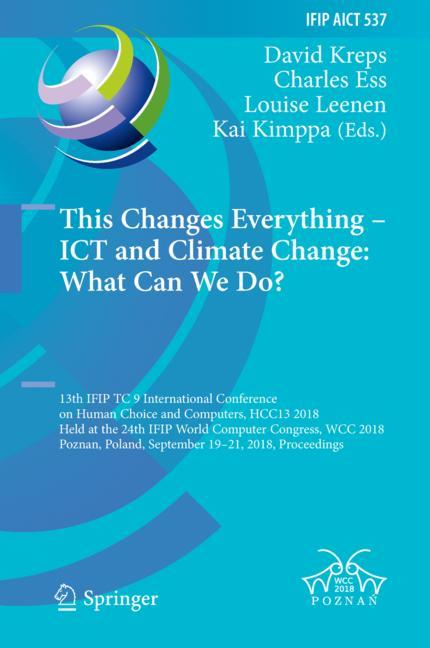 Cover of 'This Changes Everything – ICT and Climate Change: What Can We Do?'
