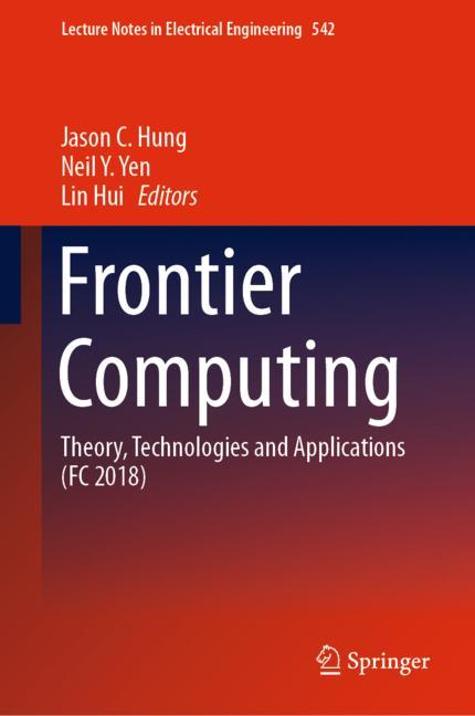 Cover of 'Frontier Computing'